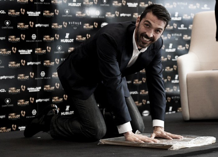 Buffon se hace con el Golden Foot