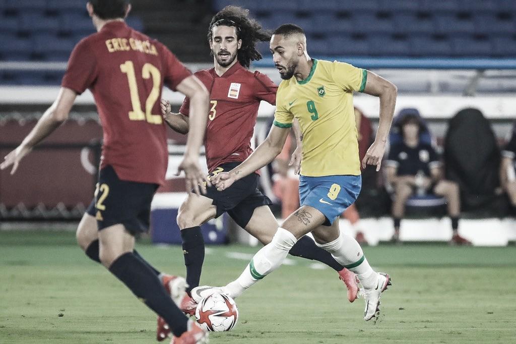 Com gol de Malcom na prorrogação, Brasil é bicampeão do futebol masculino em Tokyo 2020