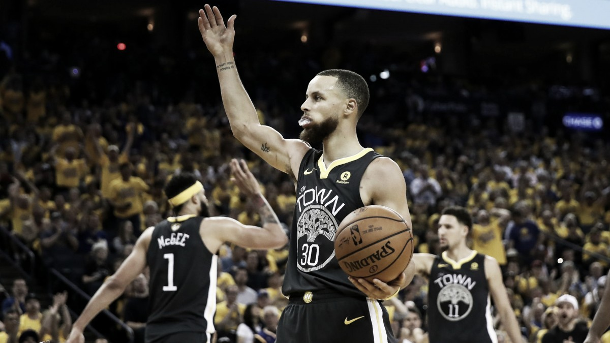 2018 NBA Finals Game 2: Curry's record night lifts Warriors past Cavaliers 122-103