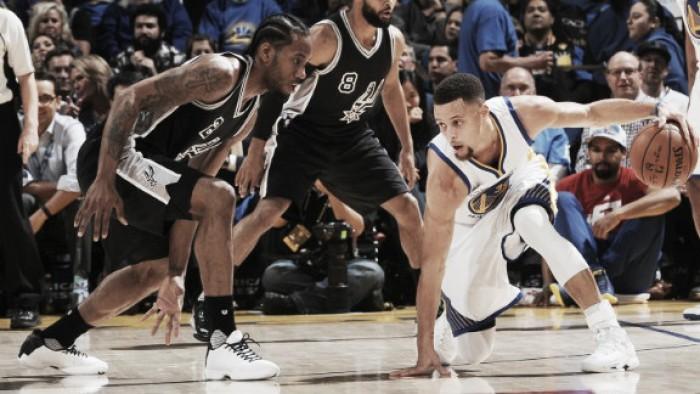 San Antonio Spurs vs Golden State Warriors en vivo y directo online NBA 2016/2017 (98-110)