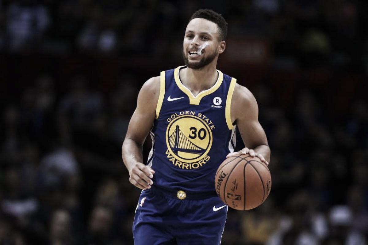 Lesionado, Curry deve retornar aos Warriors na semifinal dos playoffs