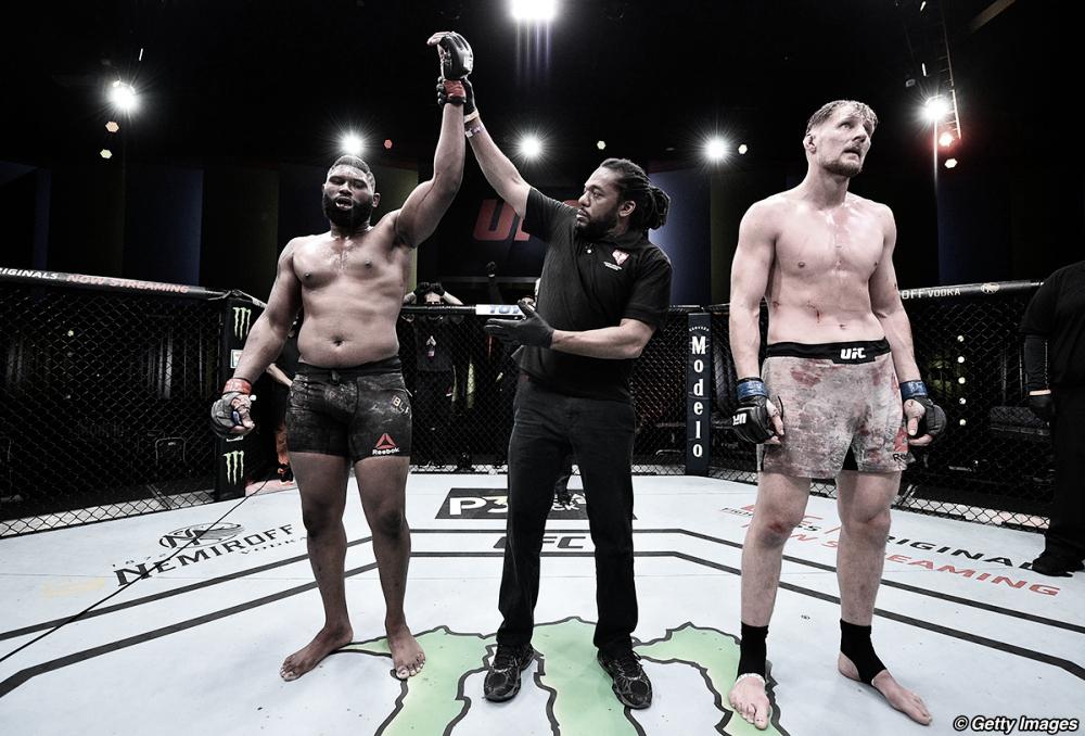 UFC Vegas 3: los derribos de Blaydes fueron demasiado para Volkov