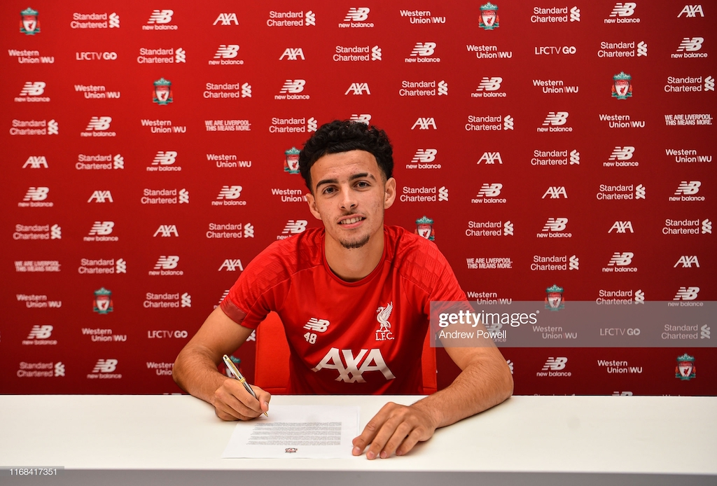 Liverpool youngster Curtis Jones signs new long-term deal at Anfield