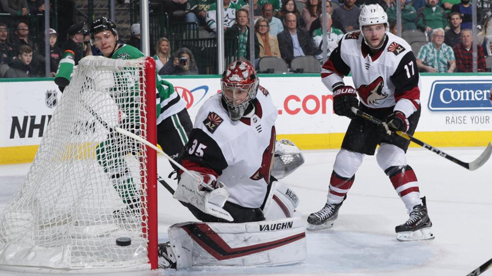 Dallas Stars beat Arizona Coyotes in a high scoring game