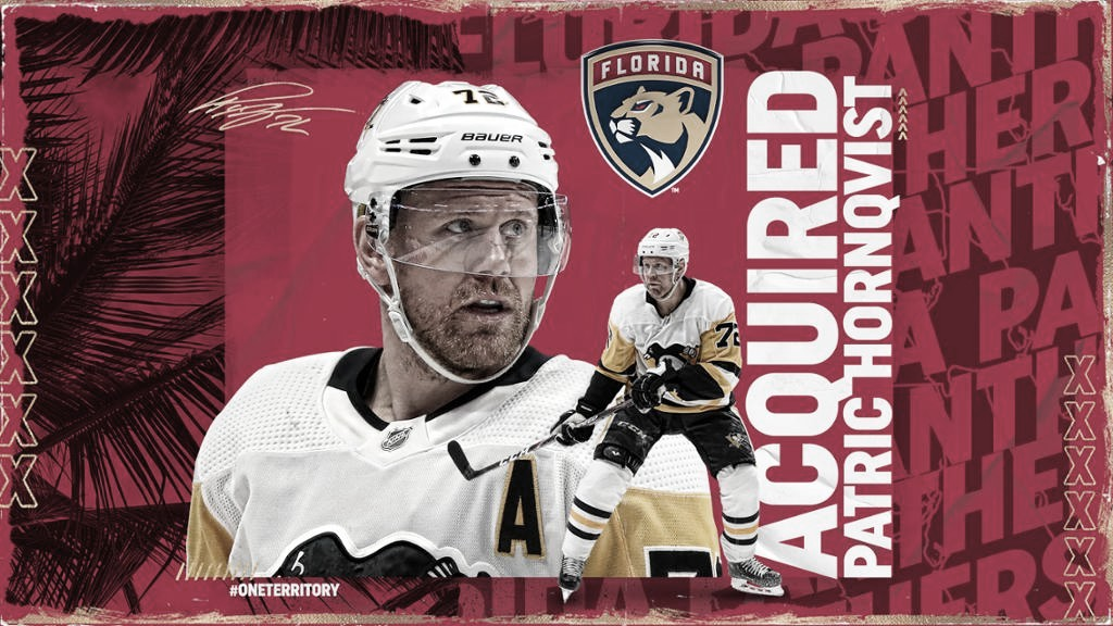 Hornqvist traspasado a los Panthers