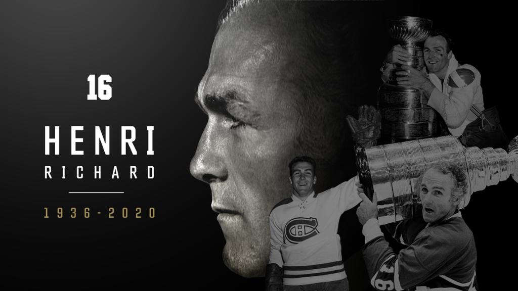 Fallece Henri Richard, el jugador más laureado de la NHL