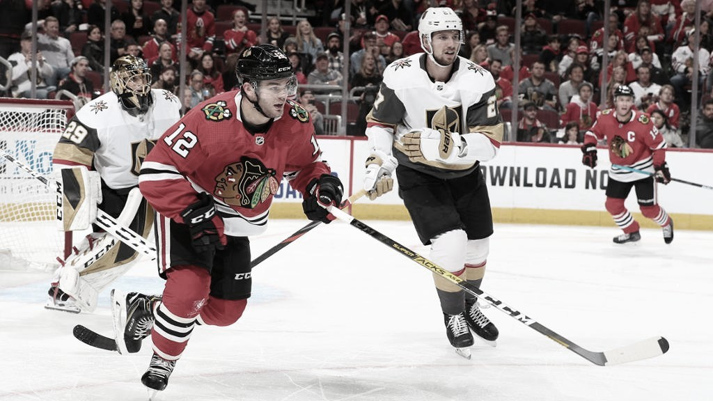 Previa Chicago Blackhawks - Vegas Golden Knights: sorpresa contra ambición