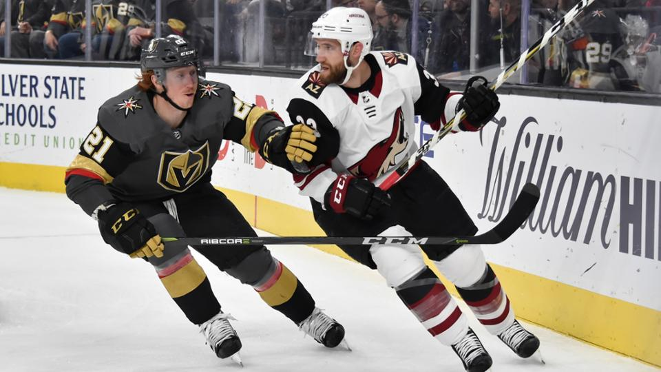 Arizona Coyotes defeat Vegas Golden Knights 5-2 on the road