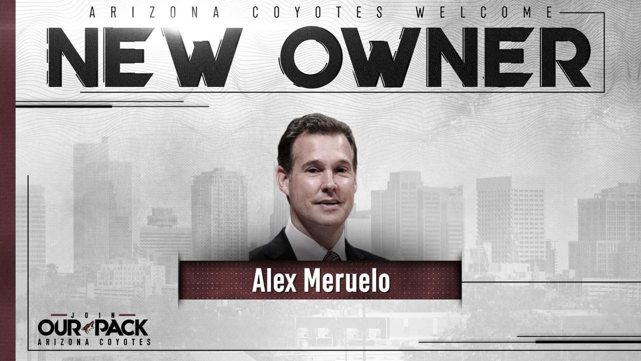 El hispano Alex Meruelo, nuevo propietario de los Arizona Coyotes