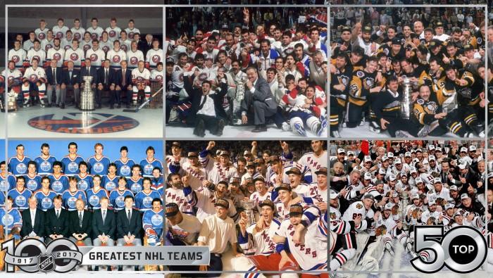 El Top 50 de mejores equipos de la NHL ya salió a la luz