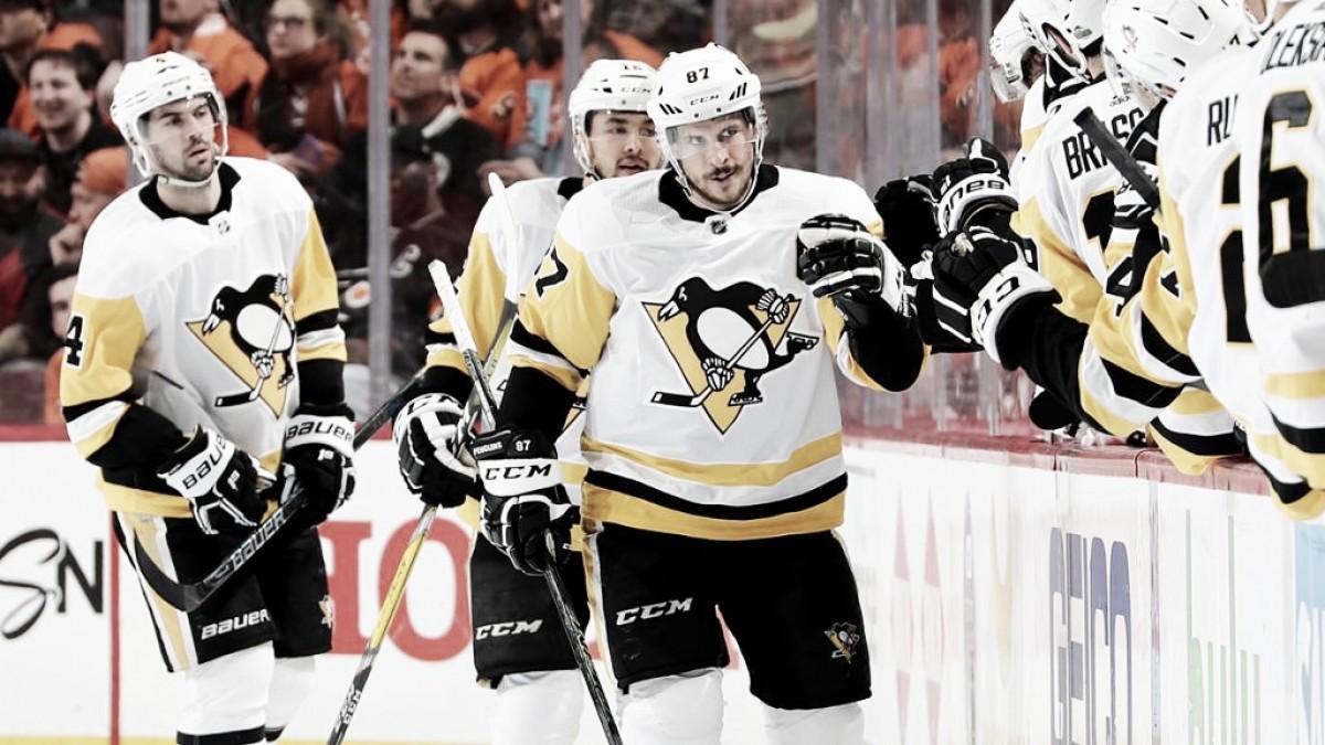 Sidney Crosby, líder histórico de los Penguins en puntos