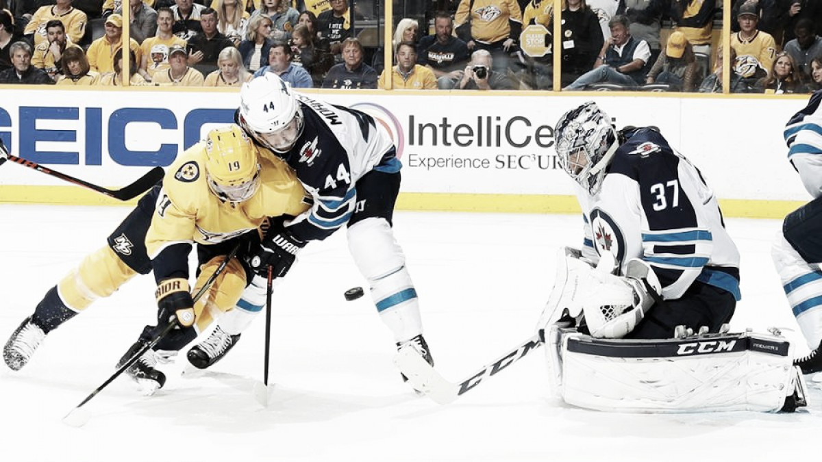 Paul Maurice admits that Winnipeg Jets did not play their best against Nashville Predators