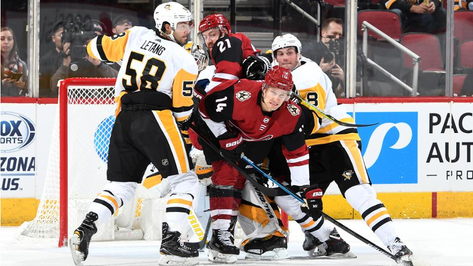 Pittsburgh Penguins too strong for surging Arizona Coyotes
