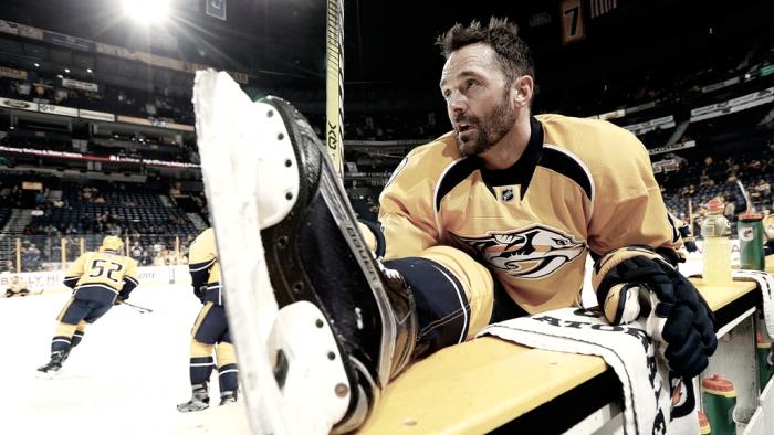 Vernon Fiddler deja el hockey a los 37 años