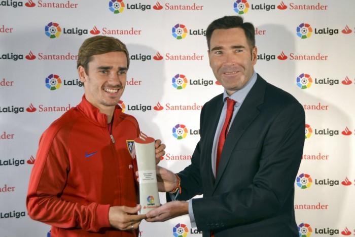 LaLiga premia a Griezmann como el mejor jugador de septiembre