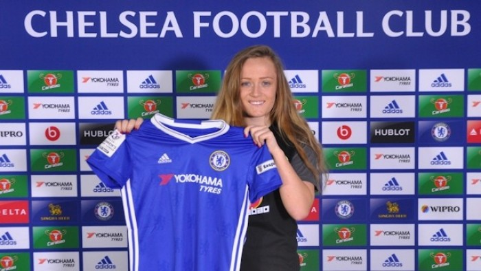 Chelsea sign promising midfielder Erin Cuthbert from Glasgow City