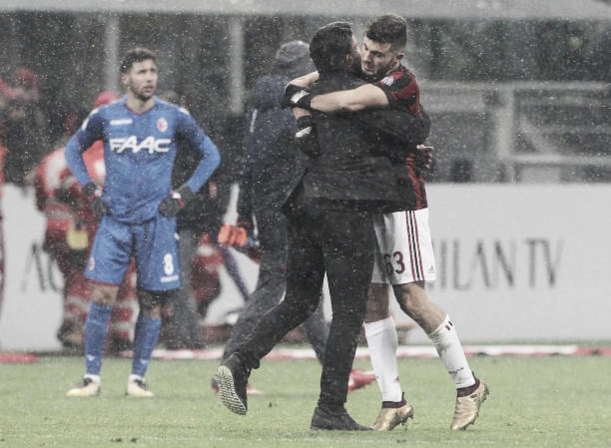 Para dar sequência à reformulação, Milan encaminha renovações de Cutrone e Gattuso
