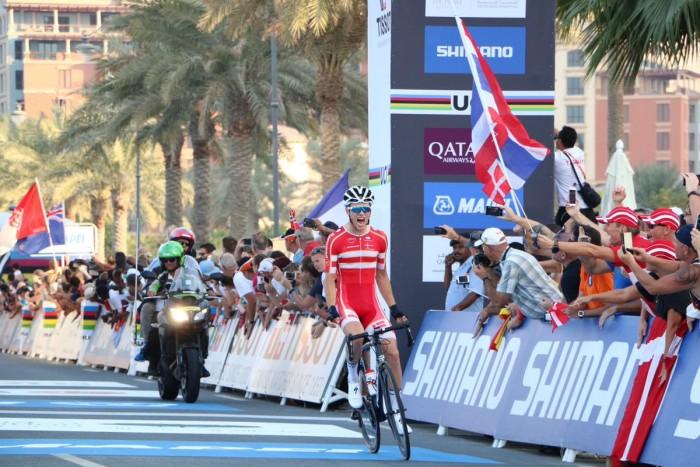 Doha 2016 - Egholm d'oro negli Juniores, Italia giù dal podio con Mozzato (4°)