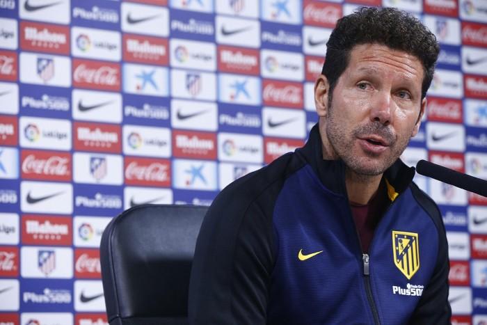 """Simeone: """"Todos se sienten importantes y saben que pueden ser determinantes en un partido"""""""