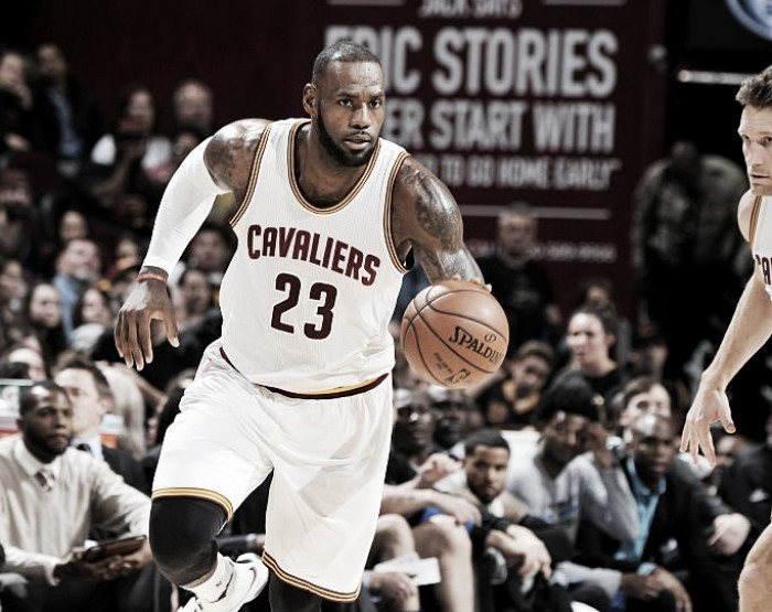 LeBron James comanda vitória do Cleveland Cavaliers sobre Orlando Magic