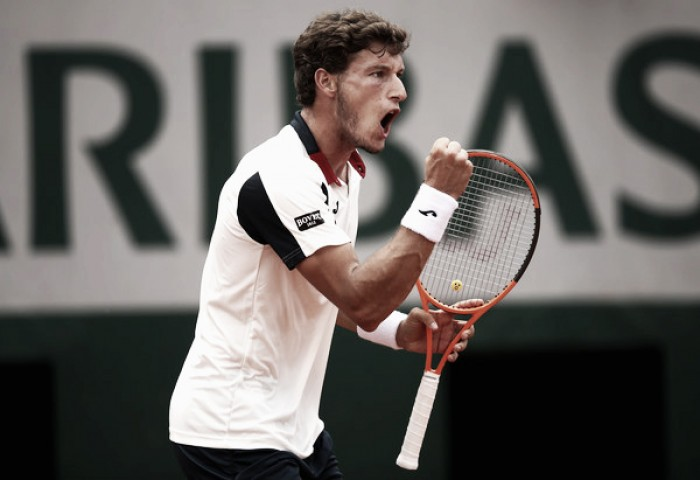 French Open: Pablo Carreno Busta ousts Grigor Dimitrov to seal last 16 spot