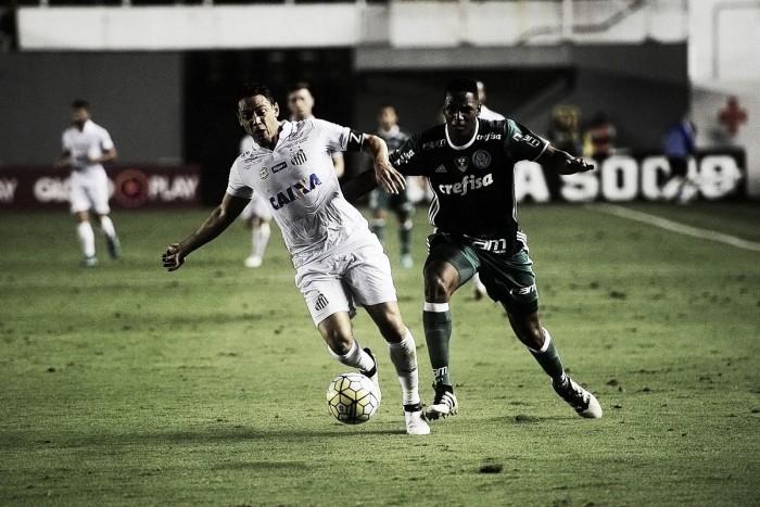 Santos vence líder Palmeiras na Vila e pula para o terceiro lugar