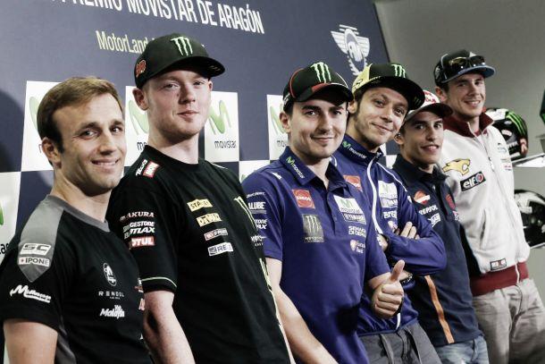 MotoGP, Aragón: le dichiarazioni dei piloti in conferenza stampa