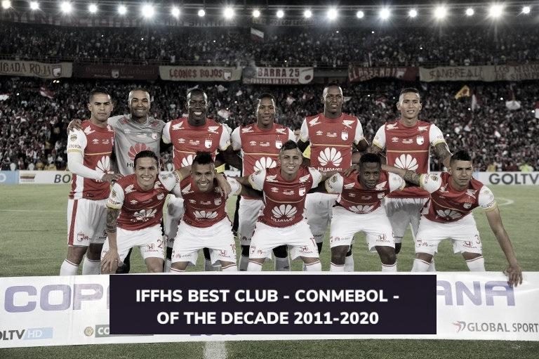 Santa Fe, octavo mejor equipo de la década en Sudamérica