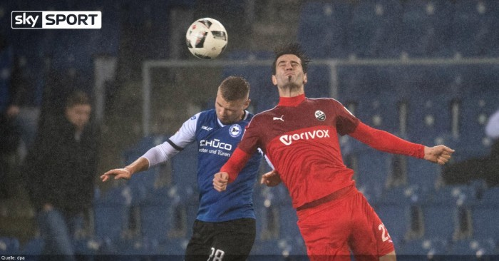 Arminia Bielefeld 1-0 SV Sandhausen: Voglsammer goal gives the Blues a first win