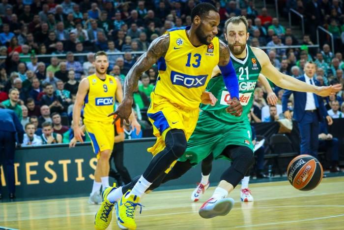 Eurolega - Il Maccabi vince anche a Kaunas. Zalgiris K.O 87-74