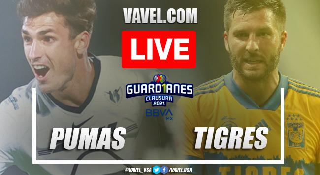 Highlights:Pumas 0-0 Tigres in 2021 Liga MX