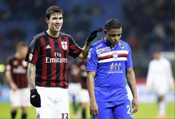 Risultato Sampdoria 0-1 Milan in Serie A 2015/16