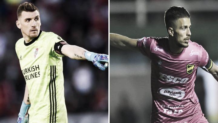 Cara a cara: Franco Armani vs. Ezequiel Unsain