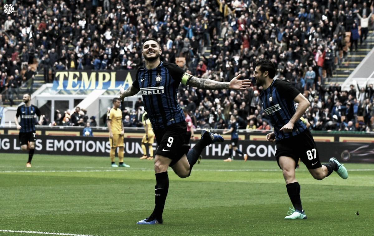 Inter faz dever de casa contra o Verona e se mantém na zona de classificação para a Champions