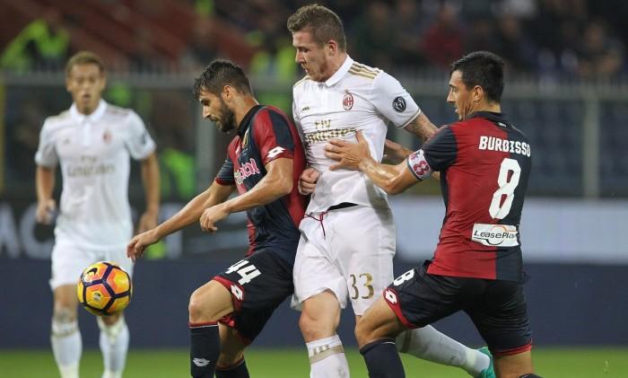 Cade il Milan a Genova, dilaga il Grifone (3-0)