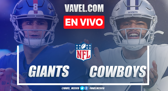 Resumen y Touchdowns del Giants 34-37 Cowboys en la semana 5 de la NFL 2020