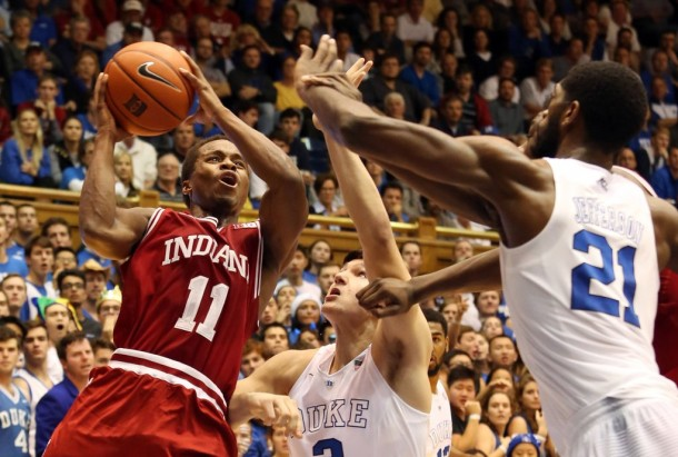 Indiana No Match For Duke Blue Devils As Hoosiers Lose In Rout