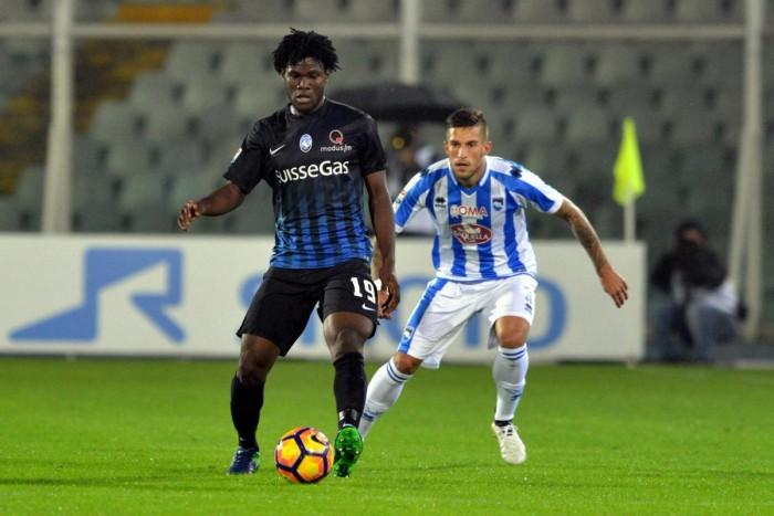 Serie A, l'Atalanta batte il Pescara 0-1 nella notte folle dell'Adriatico