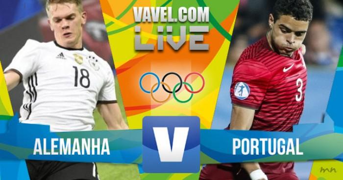 Alemanha goleia Portugal no futebol masculino dos Jogos Olímpicos (4-0)