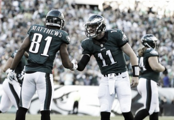 The Philadelphia Eagles run riot over the Pittsburgh Steelers in the battle of Pennsylvania