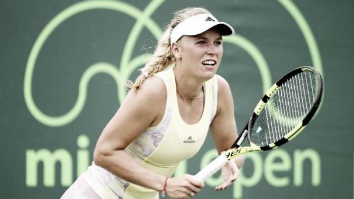 Miami Open: Wozniacki's tough times continue