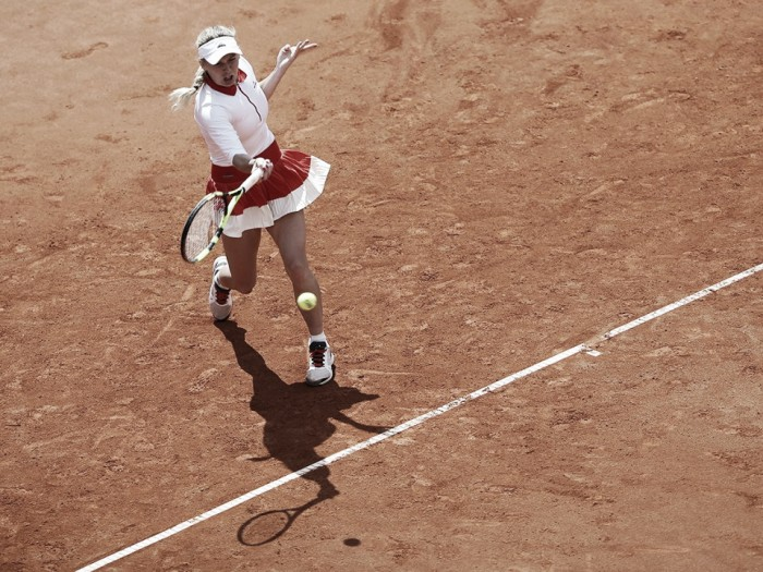 WTA Prague: Caroline Wozniacki cruises through to the second round