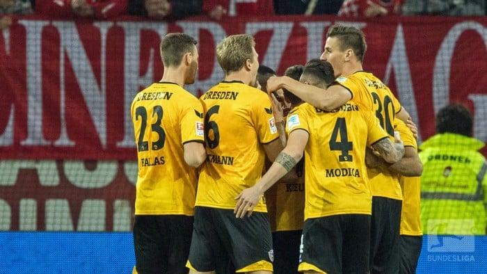 Fortuna Düsseldorf 0-3 Dynamo Dresden: First minute goal sets up win for returning Lumpi