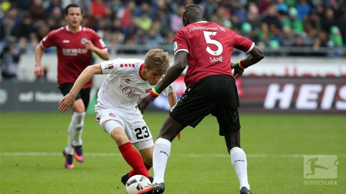 Hannover 96 3-1 Würzburger Kickers: Harnik and Sahin-Radlinger star in dramatic victory