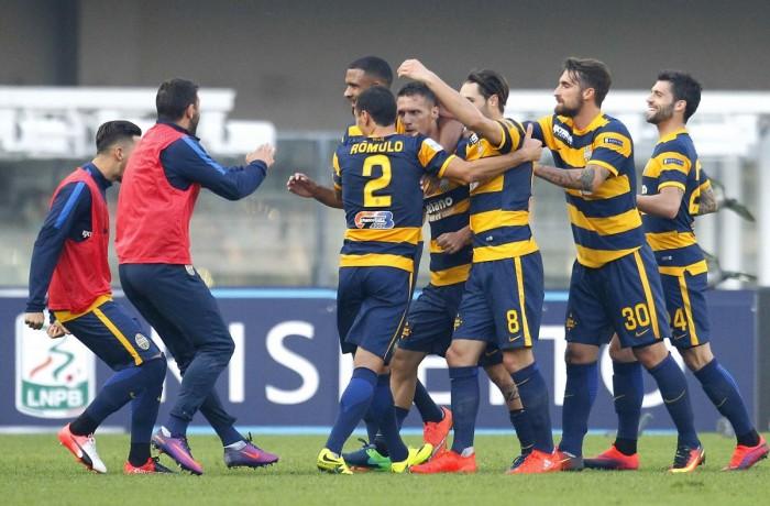 Serie B, troppo forte l'Hellas: Trapani battuto 2-0 grazie a Siligardi e Valoti