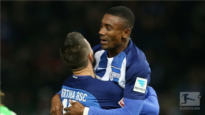Hertha BSC 3-0 Borussia Mönchengladbach: Kalou's hat-trick moves the old lady up to third
