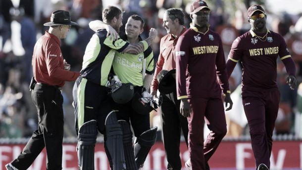 Cricket World Cup: Ireland hand West Indies chastening defeat