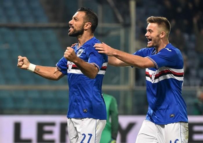 Basta Quagliarella: la Sampdoria si impone 1-0 sull'Inter che ripiomba nelle incertezze