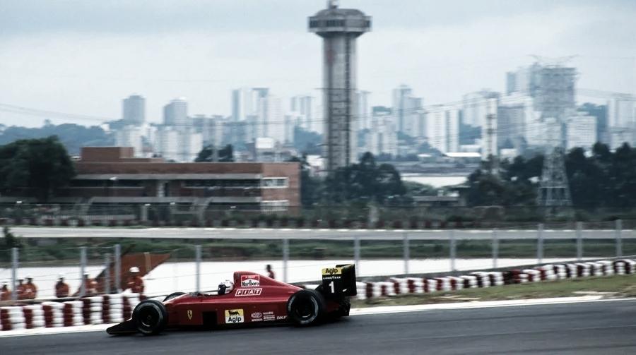 Alain Prost, o maior vencedor do GP do Brasil de Fórmula 1