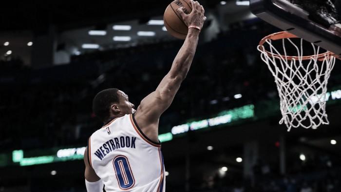 Westbrook faz 28 pontos e Thunder vence Timberwolves